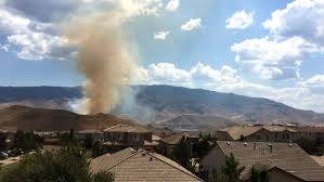 Wildfire Near Reno by Mogul Fire Fully Contained At 124 Acres