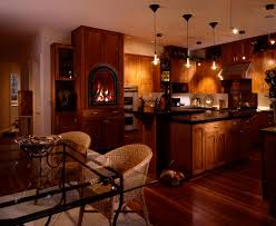 kitchens and fireplaces kitchen design photos traditional brick