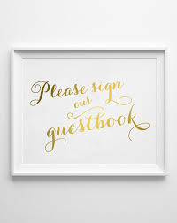 sign in guest book guestbook wedding sign in gold foil guest book wedding sign