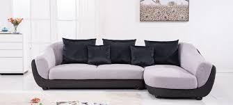 tissu canapé canapé d angle en tissu gris a petit prix