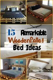 15 remarkable wooden pallet bed ideas the budget diet