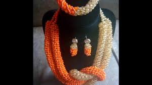 necklace from beads images Beautiful beaded necklaces from ghana jpg