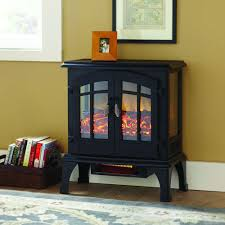 hampton bay blaise 20 in infrared quartz electric fireplace log