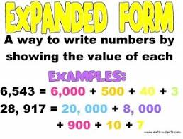 best 25 expanded form math ideas on pinterest expanded form
