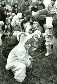 like a bunny flashback easter egg hunts