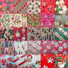 vintage christmas wrapping paper rolls 25 vintage wrapping papers for dollhouse christmas 2013 note i