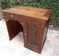 mettre favori sur bureau petit bureau ancien en chêne avant après anjoudeco