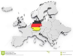 Germany On World Map by Https Thumbs Dreamstime Com Z Germany Euro Map 1