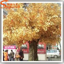 wedding wishing trees artificial wedding wishing tree autumn yellow gold wish trees