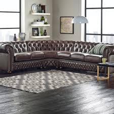Velvet Chesterfield Sofa Uk by Chesterfield Corner Unit 2 X 3 In Bespoke Fabric Modena Grey