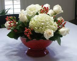 kitchen shower colander flower arrangement gift for the bride