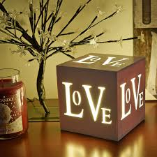 Decorative Christmas Boxes Light Up by 3 Led Warm White Home Or Love Xmas Christmas Decoration Light Up