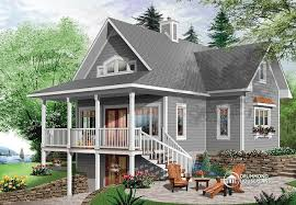 lakeside cottage house plans beautiful lake cottage design 2939 v1 by drummond house plans