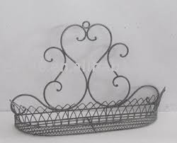 Wall Plant Holders 100544f Swirl Metal Wall Plant Holder Buy Plant Holder Flower
