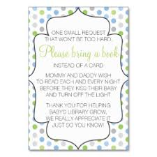 bring a book instead of a card baby shower bring book instead of cards invitations zazzle au