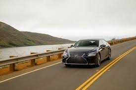 lexus performance company 2018 lexus ls 500 f sport adds visual aggression handling pack to