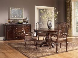 ashley dining table and chairs north shore round pedestal dining table set by ashley home gallery
