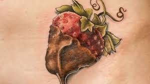 strawberry tattoo images u0026 designs