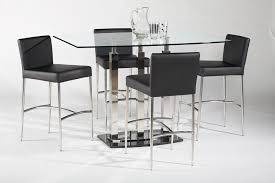 rectangle pub table sets contemporary pub tables and chairs the popular contemporary bar