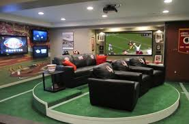 home design comfy man cave ideas for basement inspiring within