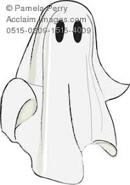 cute halloween ghost clipart image clip art illustration of a cute little ghost