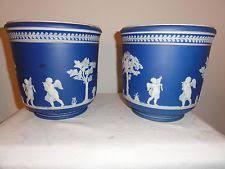 blue antique ceramic u0026 porcelain planters ebay