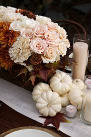 pumpkin fall wedding centerpiece photos the wedding