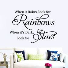 popular rainbow wall decals buy cheap rainbow wall decals lots modern characters