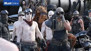 Mad Max Costume Mad Max Stars Spook Sydney As They Descend On Opera House