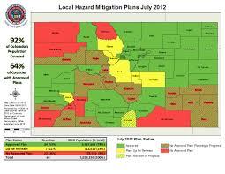 Colorado Map Of Counties by Colorado Emergency Management Colorado Local Hazard Mitigation
