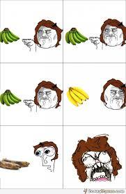 Rage Meme Comics - fubby banana rage meme comics