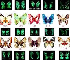 100pcs 7cm w artificial vivid butterfly craft w pin home office