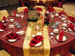 red wedding table decorations ideas decoration party ideas