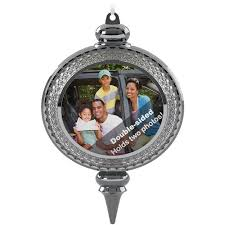 a beautiful year two sided picture frame ornament keepsake