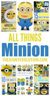 creative minion crafts for kids the jenny evolution
