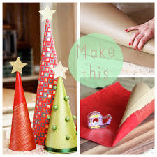 diy wrapping paper trees lilyshop by jessie daye
