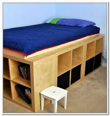 Building A Platform Bed With Drawers by Diy Platform Bed With Storage Build An Inexpensive Bed With