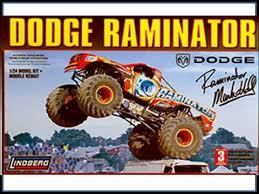 build dodge raminator monster truck 1 24 scale lindberg