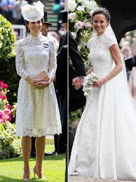 kate middleton u0027s royal ascot dress looks like pippa middleton u0027s
