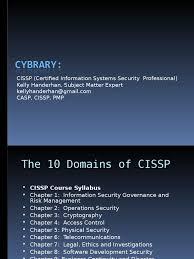 cissp 1 information security u0026 risk management threat