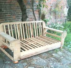 upcycle an old sofa into garden furniture miami