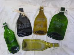 wine bottle serving tray unique gifts serving trays engraved gifts melted bottles