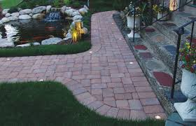 Patio Paver Lights Paver Lighting Unobtrusive Accent Illumination Weather