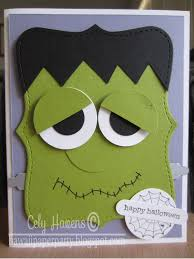 Halloween Birthday Ecards Handmade Halloween Card From The Manitoba Stamper Orange