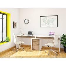 Computer Desk With Filing Cabinet Nexera Liber T 2 Person Desk With Filing Cabinet Computer Deskz