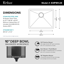 Sink Dimensions Kitchen by Stainless Steel Kitchen Sinks Kraususa Com