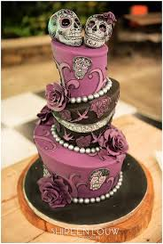 skull wedding cakes 3 tier mad hatter style wedding cake with tattoo skulls flickr