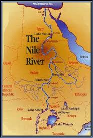 nile river on map nile river clipart physical map pencil and in color nile river