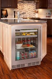 kitchen island with refrigerator kitchen island w perlick shallow depth refrigeration in with