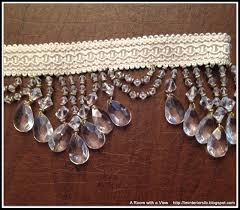 Beaded Fringe For Curtains A Room With A View I Am Back And My Dining Room Curtains